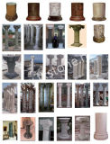 Colonne de marbre pierre /colonne romaine /pilier/ Colonne de pierre