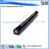 Nh-BV Cu Core isolés en PVC Câble ignifuge