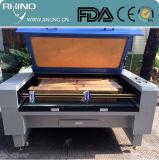 Машина Engraver лазера тканья ткани ткани высокой точности