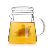 Cristalería/Cookware/utensilios de cocina/aplicación/pote/Teaset de cristal