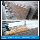 Escadas de piso e escadas de granito vermelho Maple G562