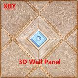 Panneau de mur décoratif en cuir de panneau de mur du panneau 3D d'unité centrale