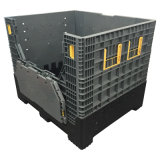 Caixas de pálete dobráveis plásticas 1200X1000X1000mm