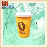 Heißes Verkaufs-Papiercup-Kaffeetasse-Kräuselung-Cup