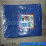 120GSM imperméable Blue White PE Tarps