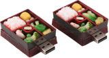 Toshiba를 가진 자주색 가지 모양 USB 섬광 드라이브 안전 또는 Samsung는 잘게 썬다