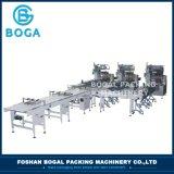 Machine van het Voedsel van de Lijn van de Verpakking van de Doughnut van de Apparatuur van de Verpakking van het koekje de Horizontale Verpakkende