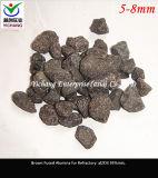 내화장치 도와 원료를 위한 브라운 알루미늄 산화물
