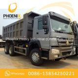 使用されたHOWOはアフリカのためのよい状態の10の車輪のダンプカーのダンプトラック6X4をトラックで運ぶ