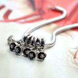 Bengel Charmes van de Halsband van de Armband van de Vrouwen DIY van de Tegenhanger van de Bloem de Geschikte