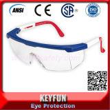 Lunettes bon marché de sûreté de qualité de la CE de norme ANSI de verres de sûreté réglables
