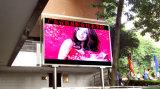 Muestra al aire libre de la exhibición de LED de P10 RGB