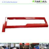 Изготовленный на заказ красные белые Coated части изготовления металла