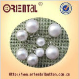Tasto bianco della perla di Dyeable di figura della sfera