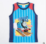 L'été 2014, la plus récente du commerce extérieur Thomas Close-Fitting garçons coton imprimé petites Vest