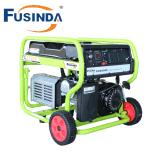 AC単一フェーズ、220Vおよびカバーが付いているFC2500e 2kwの高品質ガソリン発電機