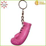 Высококачественные кожаные перчатки бокса цепочке для ключей