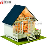 Brinquedo Intelectual DIY Wooden Doll House
