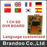 Écart-type DVR Module, 64GB carte SD, Ui Customized, Language Selectable d'OEM/ODM 1 Channel