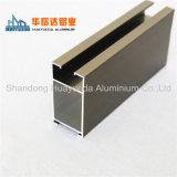 Profil en aluminium de mur rideau de matériaux de construction/profils en aluminium d'extrusion