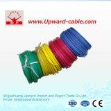 Fio elétrico encalhado UL1015 da isolação de cobre do PVC do condutor