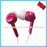 Fone de ouvido Handsfree, auriculares estereofónicos do fone de ouvido da em-Orelha