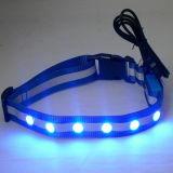 Wiederaufladbare LED-USB-Hundehalsbänder (MDC152025R)