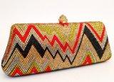 Le donne Sude imperla il sacchetto di frizioni di cristallo del partito dei sacchetti di sera