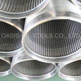 Puits D'eau Forant Des Filtres pour Puits de L'eau Ou du Pétrole D'acier Inoxydable