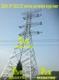 Megatro 220kv 2f7 Sdj2 Terminal DC e Torre de ângulo de tensão
