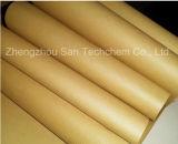 38-90GSM het gouden Bruine Document van Kraftpapier van de Kleur Geribbelde