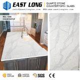 Высокосортные Countertops камня кварца Calacatta Aartificial для панелей конструкции/стены кухни/верхних частей тщеты