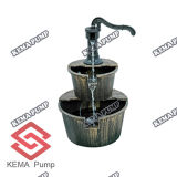Birdbath смолаы с фонтаном (W/Pump)