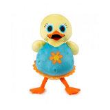 Stuk speelgoed van de Eend van de Pluche van de Dieren van het landbouwbedrijf het Zachte Stuk speelgoed Gevulde Gele voor Verkoop