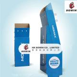 Crémaillères chaudes bon marché de supports d'étalage de papier de premier niveau de vente