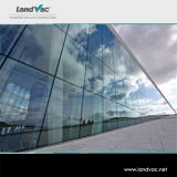 Vetro basso di acquisto di Landvac di vuoto singolo in linea E della lastra di vetro per materiale da costruzione