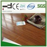Plancher stratifié U-Groove imperméable à l'eau 12 mm Merbau pour chambre à coucher