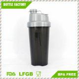пластичная бутылка трасучки протеина 700ml с крышкой