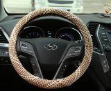Meryl ademt vrij de Kleurrijke AutoDekking van het Stuurwiel