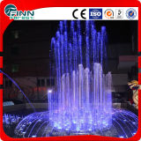 Fontaine de jardin de caractéristiques personnalisée par type en gros de fontaine d'eau de musique de forme de S et d'eau