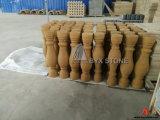 Beige/Gouden Zandsteen Geslepen Balustrade voor het Project van de Bouw
