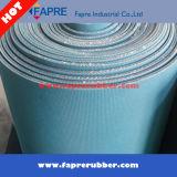 Industrielle blaues Rot-Schwarz-Farbe/Gewebe-Einfügung-Gummi-Blatt