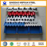 25-210-840 piatto ondulato d'acciaio galvanizzato PPGI