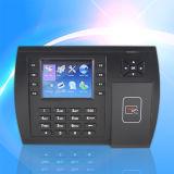 Le temps de présence de carte de proximité et l'accès Terminal de commande (S500)