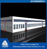 Struttura d'acciaio chiara prefabbricata professionale per i workshop