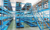 CE-Zulassung Multi-Floor Lager High Density Kopf Mezzanine-Rack