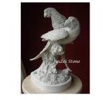 Escultura cinzelada do jardim do granito pedra animal cinzenta maravilhosa para a decoração