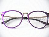 Lunettes à lunettes en aluminium à rayures à la mode Full Rim Eye Eye Cadres optiques