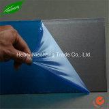 blaues Farbe 40microns PET schützender Film PET materieller Klebstreifen