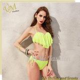Из двух частей Flouncing верхней части Swimsuits Bikinis Taniki для девочек в Интернете